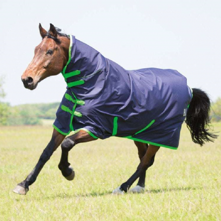 Bridleway Ontario Turnout 0g Combo Navy & Green